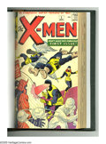 Silver Age (1956-1969):Superhero, X-Men #1-10 Bound Volume (Marvel, 1963-65). An item sure to causeany X-Men fan to drool: The first ten issues of one of...