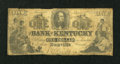 Obsoletes By State:Kentucky, Danville, KY- Bank of Kentucky $1 Aug. 15, 1856. ...