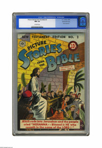 Picture Stories from the Bible New Testament Edition #2 Gaines File pedigree (DC, 1946) CGC NM 9.4 Off-white pages. Whil...