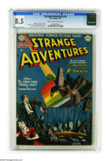 Golden Age (1938-1955):Science Fiction, Strange Adventures #4 (DC, 1951) CGC VF+ 8.5 Cream to off-whitepages. Edmond Hamilton's Chris KL-99 highlights this issue's...