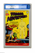 "Golden Age (1938-1955):Horror, Strange Adventures #5 (DC, 1951) CGC NM+ 9.6 Off-white to whitepages. If you want to see a fresh twist on the well-worn ""in..."