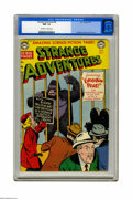 Golden Age (1938-1955):Science Fiction, Strange Adventures #8 (DC, 1951) CGC NM- 9.2 Off-white to whitepages. This isn't just any gorilla cover, it's arguably the ...