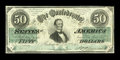 Confederate Notes:1862 Issues, T50 $50 1862 Cr. 360 PF-13.. ...