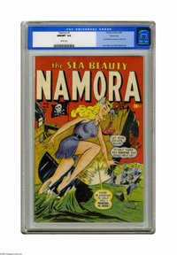 Namora #1 Vancouver pedigree (Timely, 1948) CGC NM/MT 9.8 White pages. We've got some awesome Vancouver books in this au...