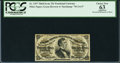 Fractional Currency:Third Issue, Fr. 1297 25¢ Third Issue PCGS Apparent Choice New 63.. ...