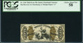 Fractional Currency:Third Issue, Fr. 1346 50¢ Third Issue Justice PCGS Choice About New 58.. ...