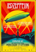 "Movie Posters:Rock and Roll, Led Zeppelin: Celebration Day (Omniverse Vision, 2012). Italian 2 -Fogli (38.5"" X 55""). Rock and Roll.. ..."