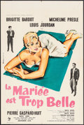 "Movie Posters:Foreign, The Bride is Much Too Beautiful (Pathe Consortium Cinema, 1956). French Petite (15.5"" X 23.5""). Foreign.. ..."