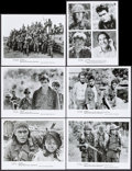 "Movie Posters:Academy Award Winners, Platoon (Orion, 1986). Photos (12) (8"" X 10.25"") & Color Slides(22) (2"" X 2""). Academy Award Winners.. ... (Total: 34 Items)"