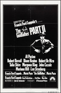 """The Godfather Part II (Paramount, 1974). One Sheet (27"""" X 41""""). Crime"""