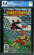 Modern Age (1980-Present):Superhero, Fury of Firestorm #28 (DC, 1984) CGC NM 9.4 White pages.