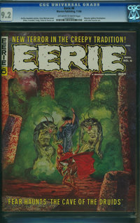 Eerie #6 (Warren, 1966) CGC NM- 9.2 Off-white to white pages