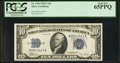 Small Size:Silver Certificates, Fr. 1704 $10 1934C Silver Certificate. PCGS Gem New 65PPQ.. ...