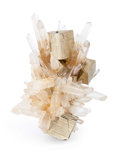 Minerals:Cabinet Specimens, Pyrite. Spruce claim (Spruce Ridge). Goldmyer Hot Springs. King Co.. Washington, USA. 4.92 x 3.39 x 3.54 inches (12.49 x 8...