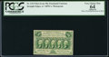 Fractional Currency:First Issue, Fr. 1312 50¢ First Issue PCGS Apparent Very Choice New 64.. ...