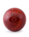 Lapidary Art:Eggs and Spheres, Red Jasper Sphere. Rio Surumu. Roraima, Amazonas. Brazil. 3.00inches (7.62 cm) in diameter. ...