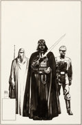 Original Comic Art:Covers, Bill Sienkiewicz Star Wars: Return of the Jedi #2 Cover Original Art (Marvel, 1983)....