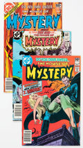 Modern Age (1980-Present):Horror, House of Mystery #260-321 Group (DC, 1978-83) Condition: AverageFN/VF.... (Total: 62 Comic Books)