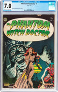 Golden Age (1938-1955):Horror, The Phantom Witch Doctor #1 (Avon, 1952) CGC FN/VF 7.0 Cream tooff-white pages....