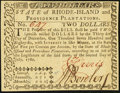 Colonial Notes:Rhode Island, Rhode Island July 2, 1780 $2 New.. ...