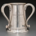 Silver Holloware, American:Loving Cup, A Harvard Spee Club Silver Loving Cup Trophy by Shreve, Crump &Low Co., Boston, Massachusetts, early 20th century. Marks: ...