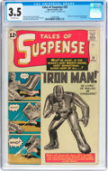 Silver Age (1956-1969):Superhero, Tales of Suspense #39 (Marvel, 1963) CGC VG- 3.5 Off-whitepages....