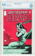 Modern Age (1980-Present):Horror, The Walking Dead #47 (Image, 2008) CBCS NM/MT 9.8 White pages....