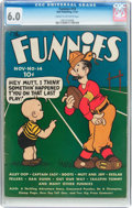 Platinum Age (1897-1937):Miscellaneous, The Funnies #14 (Dell, 1937) CGC FN 6.0 Cream to off-white pages....