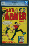 Golden Age (1938-1955):Cartoon Character, Li'l Abner #61 - Central Valley (Harvey, 1947) CGC VF+ 8.5 WHITE pages.