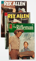 Silver Age (1956-1969):Western, The Rifleman/Rex Allen Group of 14 (Dell, 1960s) Condition: AverageVF.... (Total: 14 Comic Books)