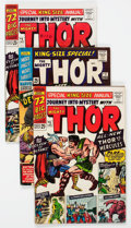 Silver Age (1956-1969):Superhero, Journey Into Mystery/Thor Annuals Group of 16 (Marvel, 1965-79) Condition: VG/FN.... (Total: 16 Comic Books)