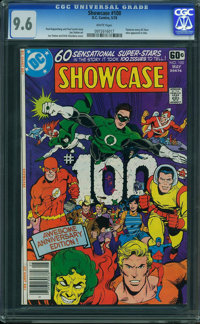 Showcase #100 (DC, 1978) CGC NM+ 9.6 White pages
