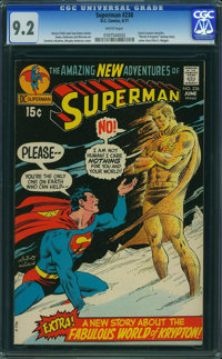 Superman #238 (DC, 1971) CGC NM- 9.2 WHITE pages