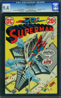 Bronze Age (1970-1979):Superhero, Superman #262 (DC, 1973) CGC NM 9.4 OFF-WHITE TO WHITE pages.