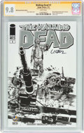 Modern Age (1980-Present):Horror, The Walking Dead #1 Wizard World Portland Sketch Edition -Signature Series (Image, 2015) CGC NM/MT 9.8 White pages....