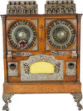 Memorabilia:Miscellaneous, Caille Brothers Double Slot Machine (c. 1904)....