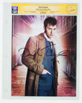 Memorabilia:Science Fiction, David Tennant Doctor Who Autographed Photo - CGC Signature Series (2016)....