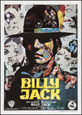"""Movie Posters:Action, Billy Jack (Warner Brothers, 1971). Italian 2 - Fogli (39.25"""" X55""""). Action.. ..."""