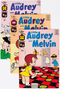 Bronze Age (1970-1979):Humor, Little Audrey and Melvin File Copies Box Lot (Harvey, 1963-74)Condition: Average NM-....