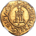 Italy:Genoa, Italy: Genoa. Biennial Doges gold Scudo d'Oro ND (1541-1555) MS63NGC,...