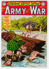 Our Army at War #23 (DC, 1954) Condition: FN+