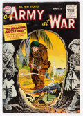 Golden Age (1938-1955):War, Our Army at War #37 (DC, 1955) Condition: FN....