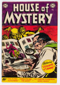 Golden Age (1938-1955):Horror, House of Mystery #23 (DC, 1954) Condition: FN+....