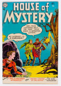 Golden Age (1938-1955):Horror, House of Mystery #31 (DC, 1954) Condition: FN+....