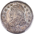 Bust Dimes, 1821 10C Small Date, JR-9, R.2, MS64 PCGS. CAC....