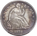 Seated Half Dollars, 1878-CC 50C WB-101 -- Cleaning -- PCGS Genuine. AU Details....