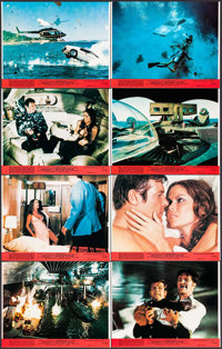 """The Spy Who Loved Me (United Artists, 1977). Mini Lobby Card Set of 8 (8"""" X 10""""). James Bond. ... (Total: 8 It..."""