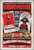 "Movie Posters:Action, Grindhouse (Dimension, 2007). One Sheet (27"" X 40"") SS Advance. Action.. ..."