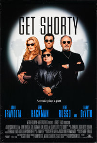 """Get Shorty & Others Lot (MGM, 1995). One Sheets (9) (27"""" X 40"""" & 27"""" X 41""""). Comedy..."""