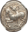 Ancients:Greek, Ancients: CILICIA. Celenderis. Ca. 425-350 BC. AR stater (10.61gm). NGC MS 5/5 - 5/5....